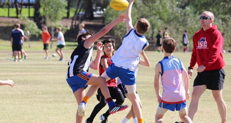 ASC Football Camps program action