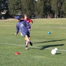 TAS Soccer Camp, New Town