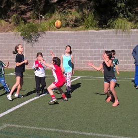 VIC Girl's Football Camp, Elwood