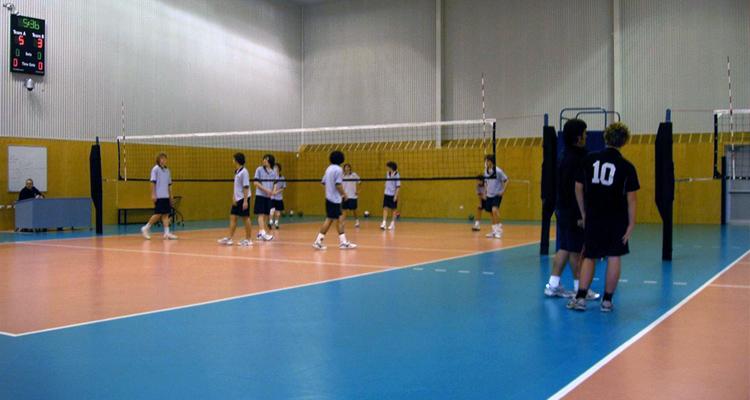 school holiday volleyball program