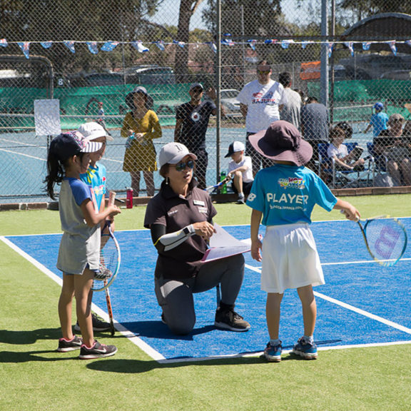 Kids Tennis Coaching Sydney