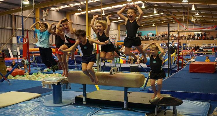 School holiday gymnastics program