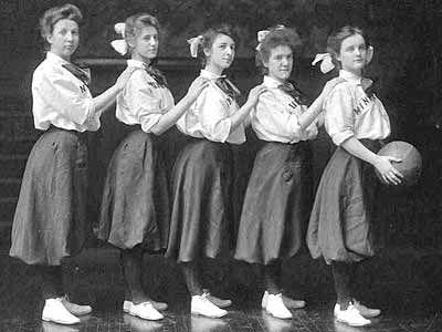 1900s netball uniform