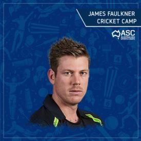 Cricket Camp Hobart Tasmania James Faulkner